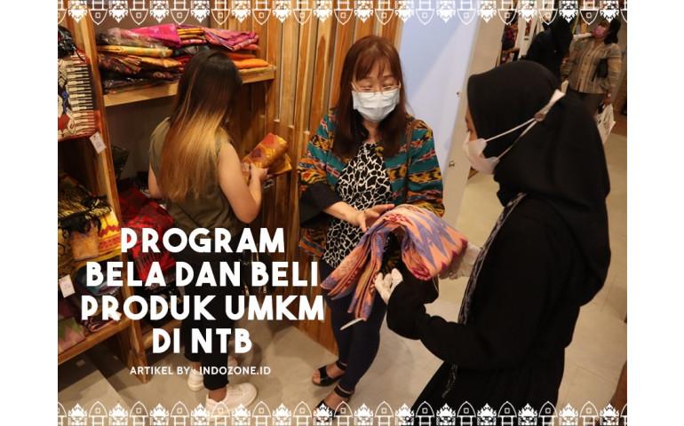 Program Bela dan Beli Produk UMKM di NTB