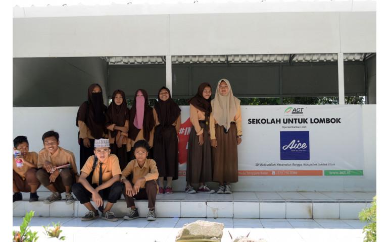 Bersama ACT, AICE Membangun Kembali Lombok