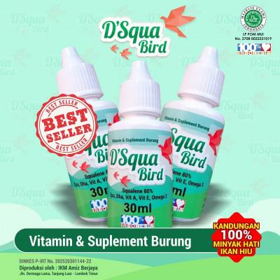 D'SQUA Bird Vitamin Burung