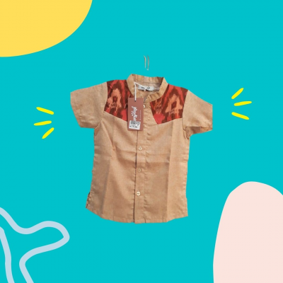 Gandrung Baju Tenun Anak Cowok (M)