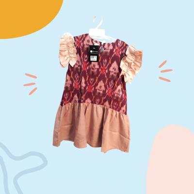 Gandrung Dress Anak Cewek (L)